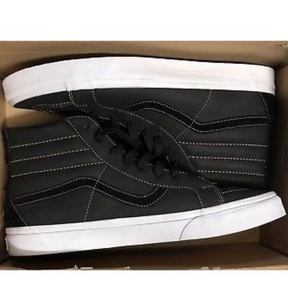 aa09b70cd4050c Vans SK8-Hi Reissue Zip Premium Leather Shoes